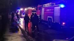 Pożar budynku gospodarczego przy ul. Koszykowej w Malborku – informacja straży pożarnej.