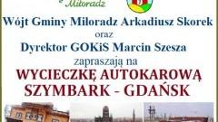 Gmina Miłoradz: Informacja dla mieszkańców w związku z wyjazdem do Szybarka i Gdańska