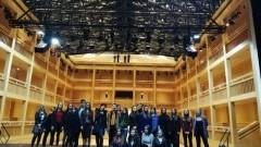 Uczniowie z malborskiego II LO w Teatrze Szekspirowskim
