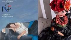 """Wernisaż wystawy """"Ale Lale"""" - malarstwo i lalki Małgorzaty Dobrowolskiej w Malborku"""