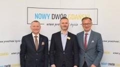 Gmina Nowy Dwór Gdański: Spotkanie Jarosława Wałęsy z Burmistrzem oraz Starostą