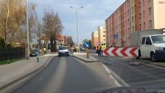 Utrudnienia w ruchu drogowym na ulicy Sikorskiego w Malborku (Droga Wojewódzka 515)