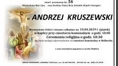 Zmarł Andrzej Kruszewski. Żył 56 lat