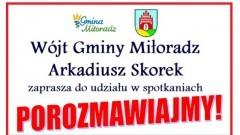 Edukacja i przyszłość szkoły tematem spotkania w Miłoradzu.
