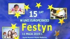 15 lat w Unii Europejskiej. Zobacz program festynu w Malborku