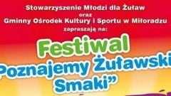 """Gmina Miłoradz: Festiwal """"Poznajemy Żuławskie Smaki""""."""