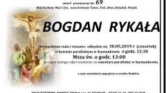 Zmarł Bogdan Rykała. Żył 69 lat