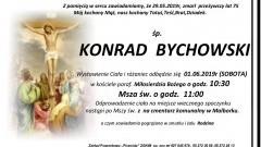 Zmarł Konrad Bychowski. Żył 75 lat.