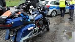 DK22: Zderzenie motocyklisty z ciężarówką