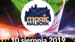 Magic Malbork - spektakl laserowy, muzycy, teatry uliczne i nie tylko.