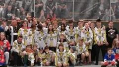 UKS Bombek SP3 Malbork wziął udział w międzynarodowym turnieju hokeja na rolkach w Monheim
