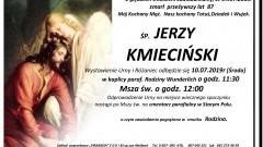 Zmarł Jerzy Kmieciński. Żył 87 lat