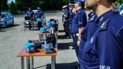 9 jednostek Pomorskiej Policji z nowym sprzętem specjalistycznym. Na liście również KPP Malbork.