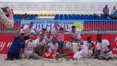 Hemako Sztutowo Mistrzem Polski w Beach Soccer 2019.