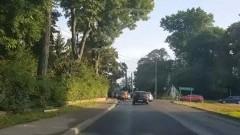 Utrudnienia na DK55 w Tragaminie.