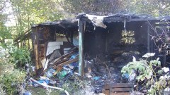 Zaprószenie ognia przypuszczalną przyczyną pożaru na ulicy Partyzantów w Malborku