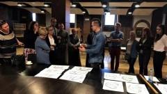 Konsultacje społeczne w Malborku. Spotkanie w Szkole Łacińskiej.
