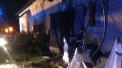 Solnica: Pożar budynku mieszkalnego
