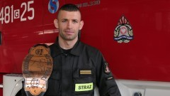 Malborski strażak Mistrzem Polski w MMA.