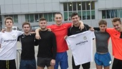Drużyna malborskiego II LO wzięła udział w Finale Wojewódzkim w Sztafetowych Biegach Przełajowych