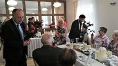 Spotkanie wicestarosty malborskiego w Klubie Seniora.