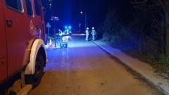 Wypadek w Stogach. Nie żyje kierowca skutera.
