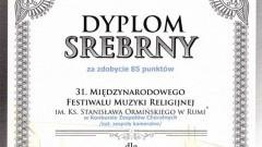 Srebro dla malborskiej Lutni. Międzynarodowy Festiwal Muzyki Religijnej im. Stanisława Ormińskiego w Rumi.