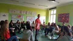 """""""Młodzież = Zmiana"""" warsztaty dla klasy psychologicznej II LO w Malborku."""
