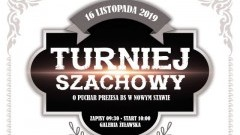 Turniej Szachowy o Puchar Prezesa Banku Spółdzielczego w Nowym Stawie.