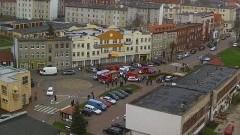 Na wstecznym przejechała kobietę na Sienkiewicza w Malborku. Materiał wideo ku przestrodze.