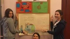"""""""Obudźmy się! To ostatni dzwonek dla klimatu!""""- Tydzień Edukacji Globalnej w malborskim I LO"""