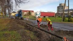 Ruszył remont fragmentu ulicy Bankowej w Nowym Stawie za pół miliona.