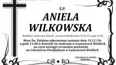 Zmarła Aniela Wilkowska. Żyła 94 lata.