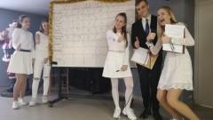 Młodzież z II LO zorganizowała świąteczny konkurs dla uczniów podstawówek.
