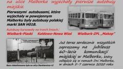 60 lat temu na ulice Malborka wyjechały pierwsze autobusy miejskie.