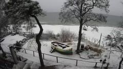 Zima w tym roku jednak zaskoczyła... nadmorskie plaże.