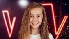 """Finał jest jej! Ola Gwazdacz w finale programu """"The Voice Kids""""."""