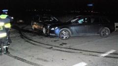 Sprawca wypadku drogowego miał ponad 2,5 promila alkoholu.