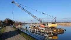 W Osłonce rozpoczęła się budowa przystani kajakowej.