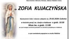 Zmarła Zofia Kujaczyńska. Żyła 91 lat.