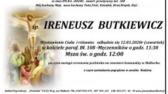 Zmarł Ireneusz Butkiewicz. Żył 50 lat.
