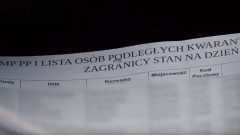 Policyjny nadzór osób objętych domową kwarantanną. Za jej złamanie grozi kara nawet 5 tys. złotych.