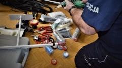 Zatrzymany mężczyzna okradał zakład produkcyjny z elektronarzędzi.