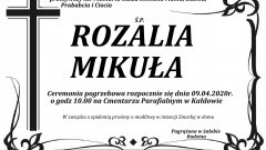 Zmarła Rozalia Mikuła. Żyła 96 lat.
