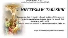 Zmarł Mieczysław Tarasiuk. Żył 83 lata.