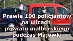 Wzmożone działania policjantów w czasie majowego weekendu.