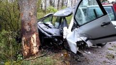 Śmiertelny wypadek pod Dzierzgoniem.