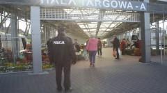 Nie ustają kontrole na miejskim targowisku w Malborku.