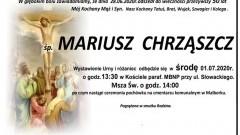 Zmarł Mariusz Chrząszcz. Żył 50 lat.