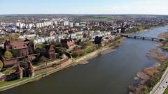 Woda w Malborku